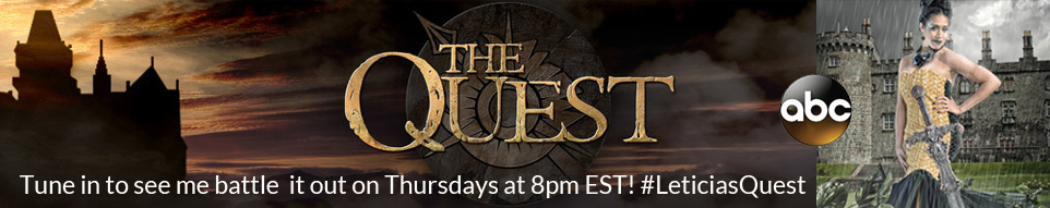 Tune in to see me battle it on Thursdays at 8pm EST! #LeticiasQuest